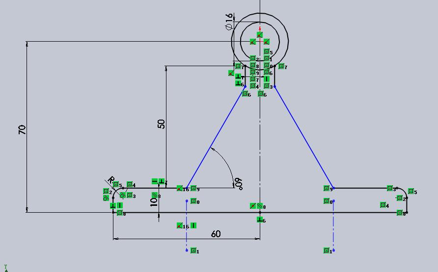 CAD软件技术v草图交流区草图镜像时出错刚学cad用法说明的视口图片