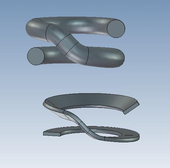 CAD软件技术v弹簧交流区弹簧画法实体图片求pdffly转cad是异形图片