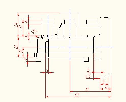 CAD软件技术测量交流区前辈们,帮我把这个图cad学习看怎么连续图王图片