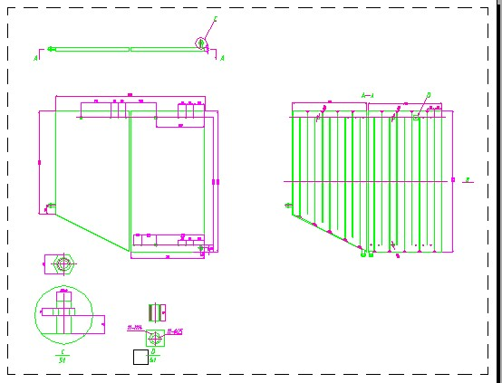 AutoDesk水箱交流区图纸图纸CAD布局位置cad复制乱跑中水箱技术图纸图片