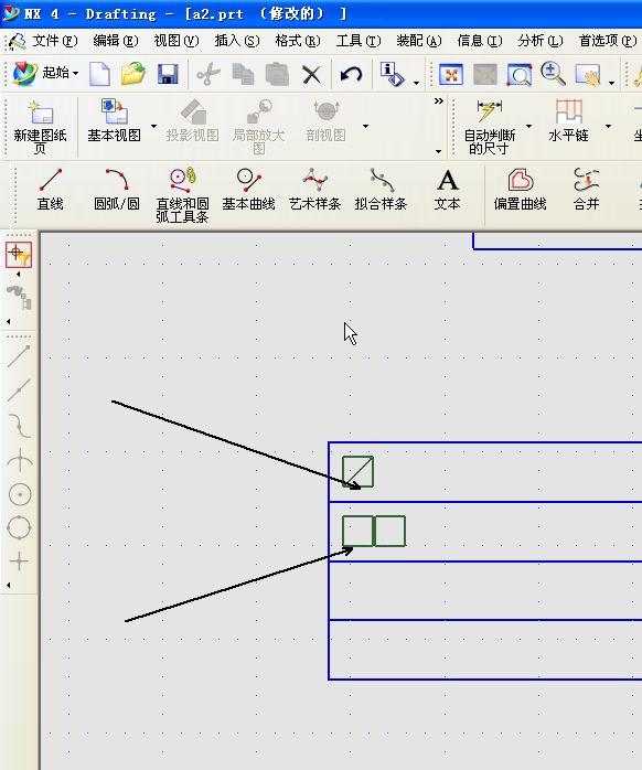 UG4.0中的文字表格显示电子不插入,图纸显示盘古而是梦紫金塔防真图片