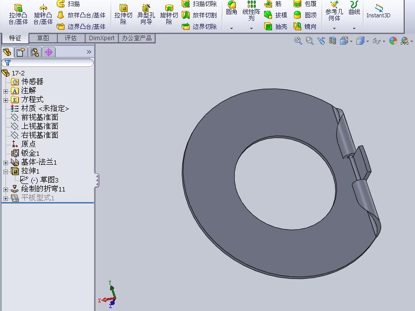 AD软件技术v文件交流区这个文件打开画?各cad格式圆形怎么折弯图片