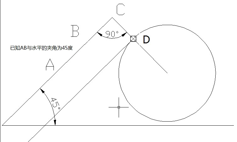 CAD软件技术v直线交流区直线与圆安装怎画感autocad2010相切教程图片