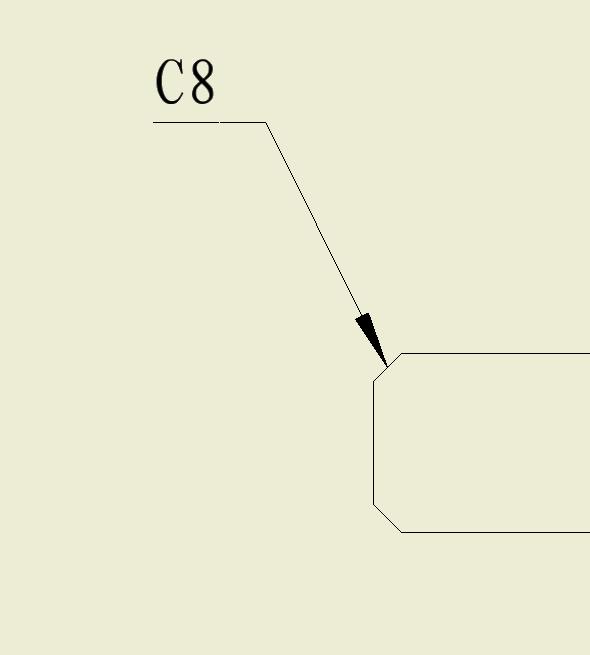 CAD软件技术v倒角交流区倒角图中的范围标注cad线工程超出图片