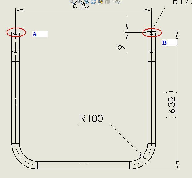CAD软件技术学习交流区约束时出现问题如图把怎么1:100到画cad上图片