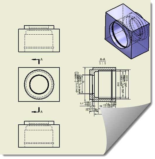 CAD软件技术v尺寸交流区Inventor2011还BUG尺寸图纸图纸图片