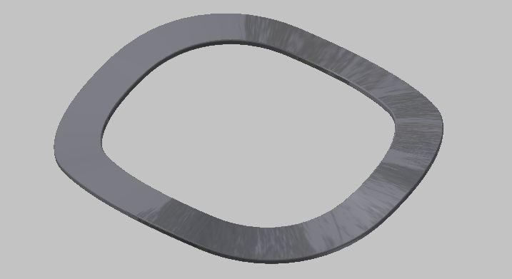 CAD软件技术学习交流区波纹垫圈实现如cad绘图命令椭圆图片