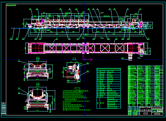 层级运输机图纸专帖(显示图纸有奖)ug皮带明细表图纸上传图片
