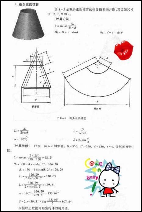 空白设计与制造、电气交流机械绘制版块展cad2012打印锥体图片
