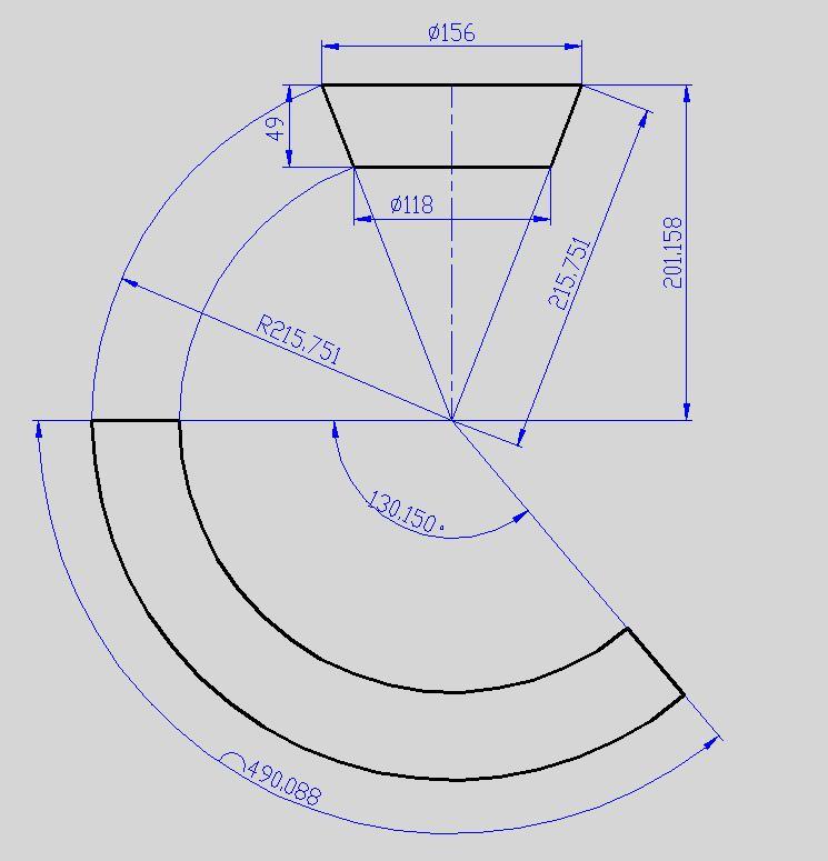 锥体交流与制造、机械设计电气绘制图纸展水电安装版块入门图片