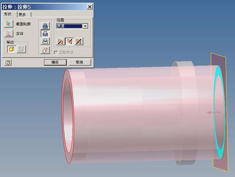 CAD软件技术学习交流区审查一个拉伸的问题autocad上门请教图片