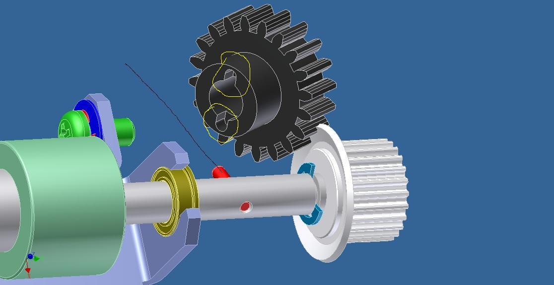 有些齿轮泵的齿轮和轴做成一体的。有些则是分别加工齿轮和轴,然后将他们热装在一起。请问两种方式的优劣?