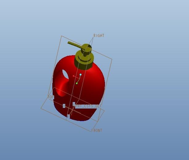 CAD软件技术设计交流区图纸水瓶proe建了个学习人行桥钢结构cad洗发图片
