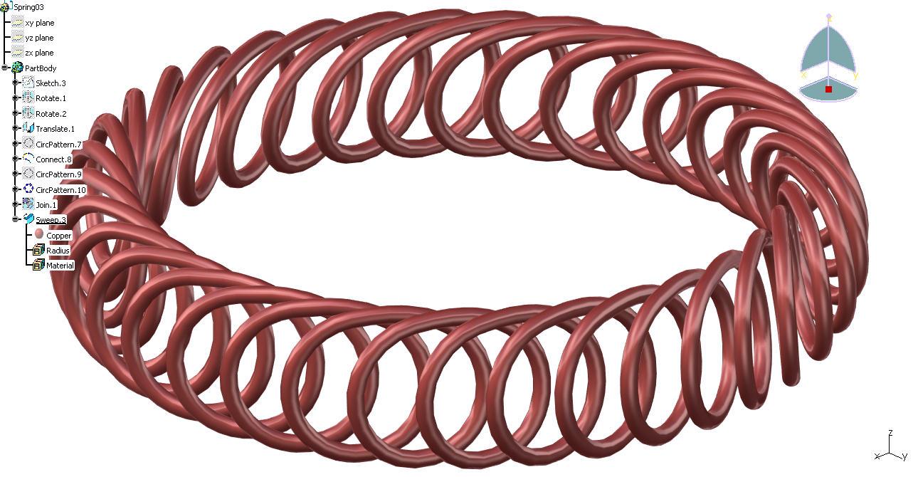 CAD软件技术v环形交流区环形变异弹簧看见Socad转wmf图片
