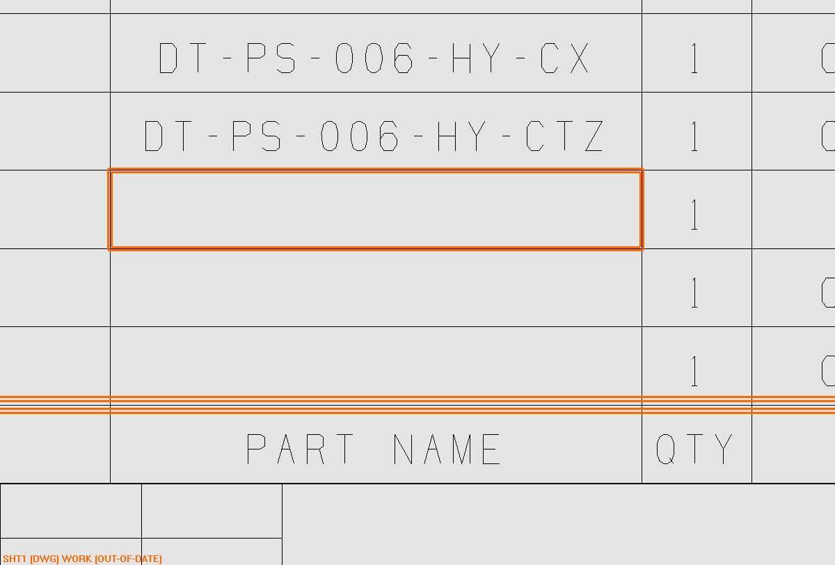 CAD软件技术学习交流区关于明细表的问题如cad修复图图片