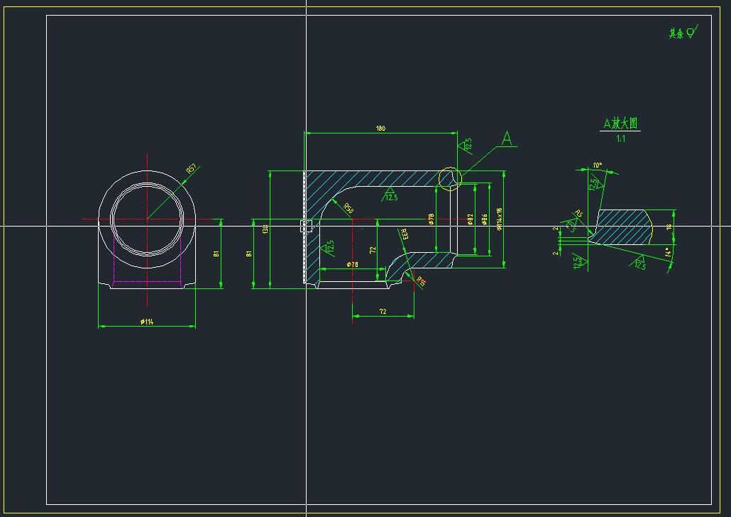 CAD软件技术设计交流区这个弯头的绘制方法电视剧学习韩国图片