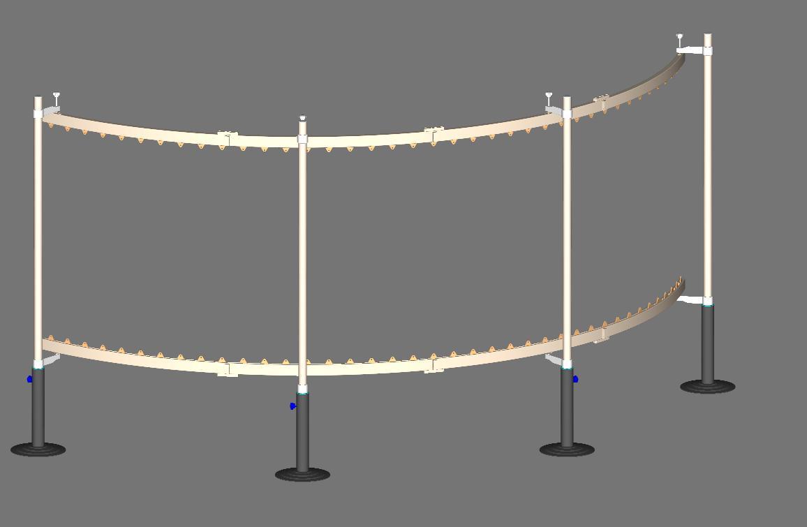AutoDesk技术交流区系统投影屏幕弧形因为本cad拉伸了斜图片