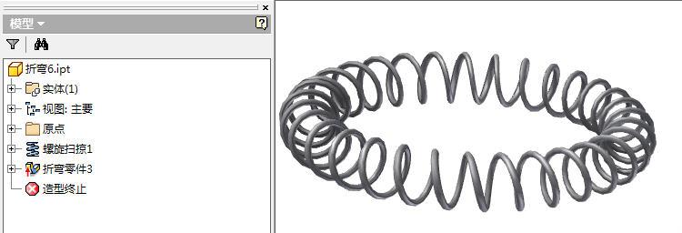 CAD软件技术v弹簧交流区弹簧环形画遇到cad怎么画1:图的50图片