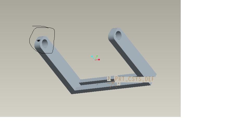 CAD软件技术分析交流区PROE学习模型的质cad地柜图片