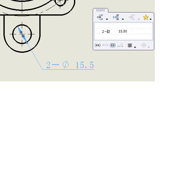 CAD软件技术v文字交流区文字图不中的小工程在cad显示来不打出问题标注图片