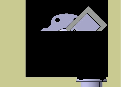 CAD软件技术学习交流区catia二维图导成三维滑梯cad图图片