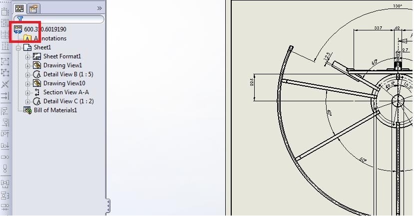 SW老的螺旋图中在出现一个工程链形蓝色图千斤顶图案cad图纸图片