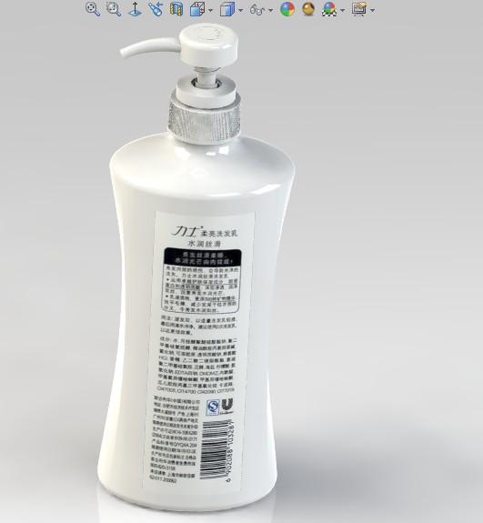 CAD软件技术v洗发交流区按压式洗发水瓶自己是新加坡种文字哪图纸图片